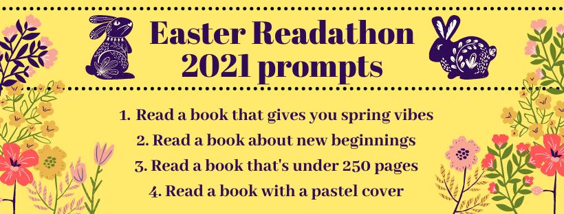 Easter Readathon 2021 Prompts